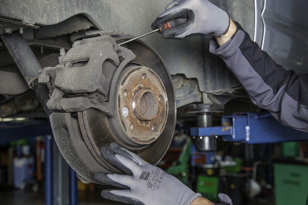 fixing-brake-disk