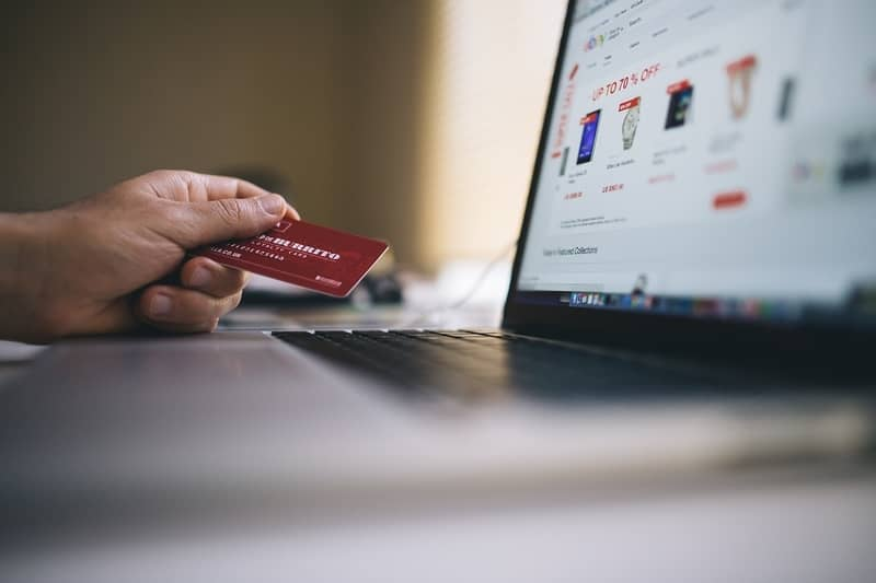 black friday online south africa credit card and laptop
