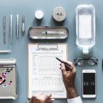 hospital-equipment-flatlay