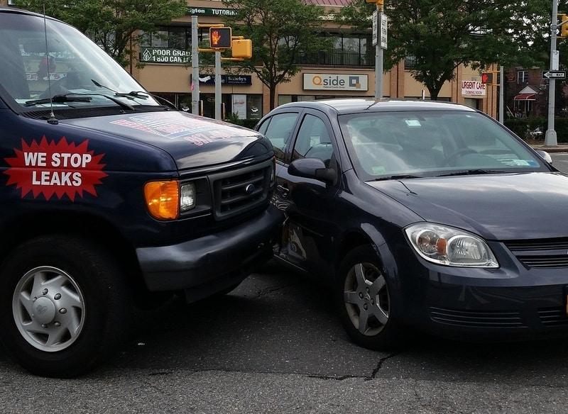 bumped-hit-car