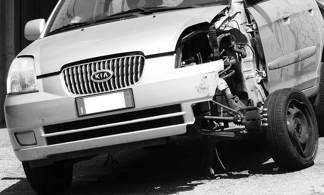 vehicle insurance after a crash