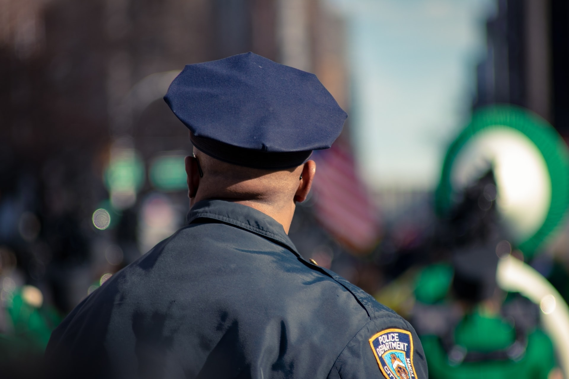 police man in uniform