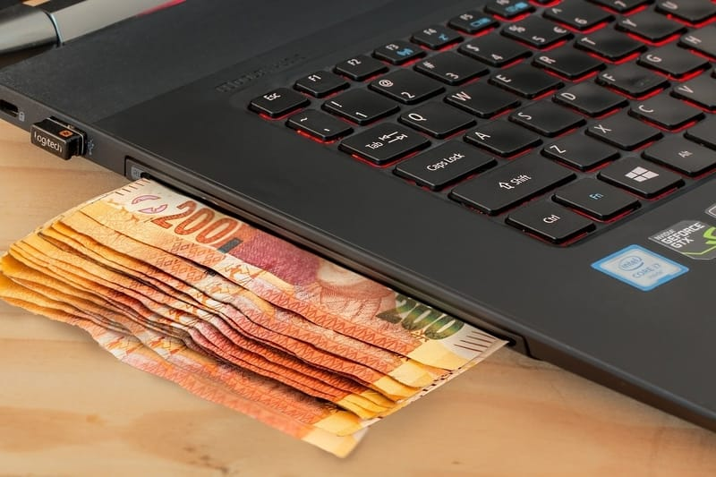 cash from your laptop