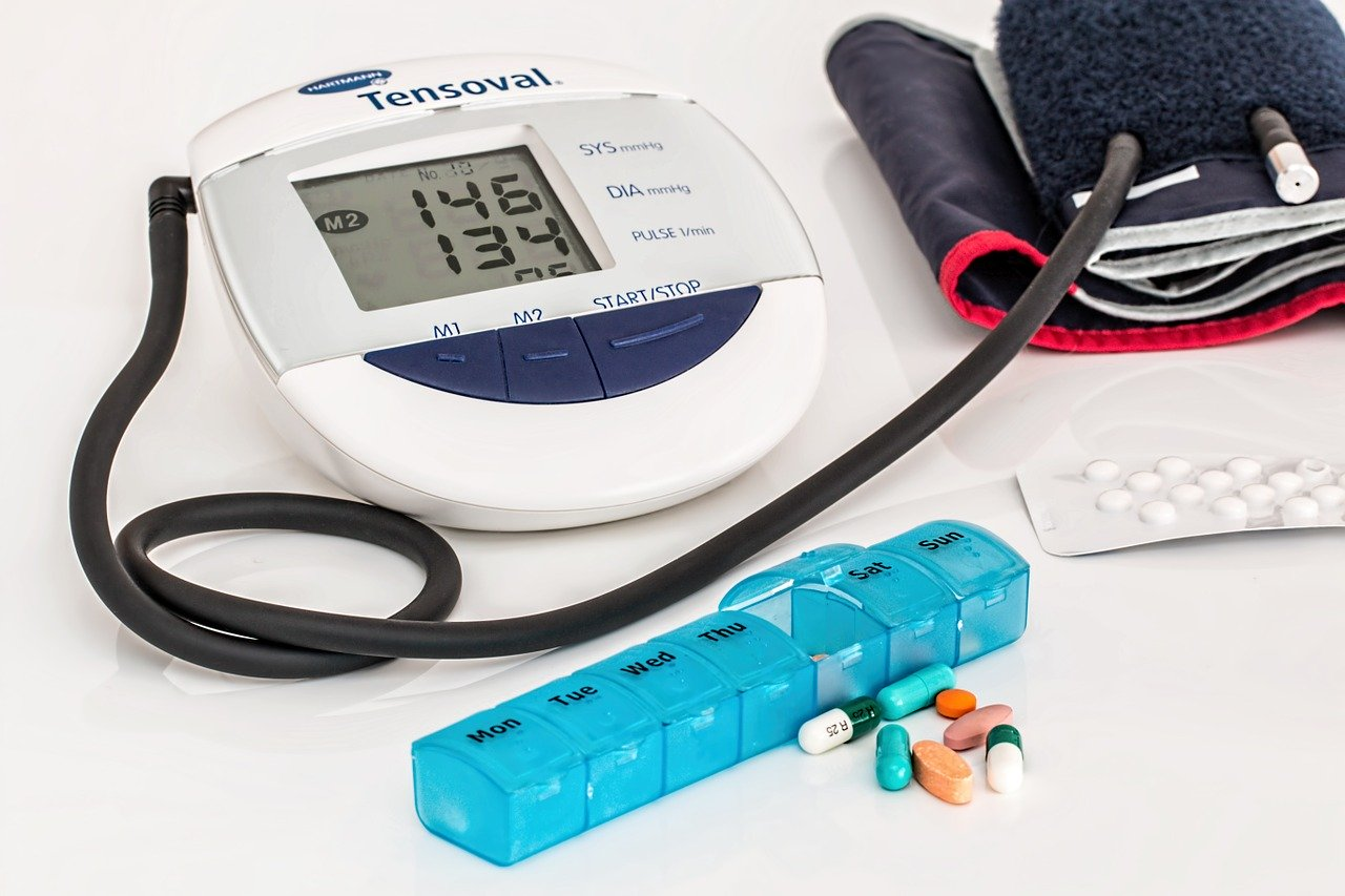Hypertension equipment and medicine