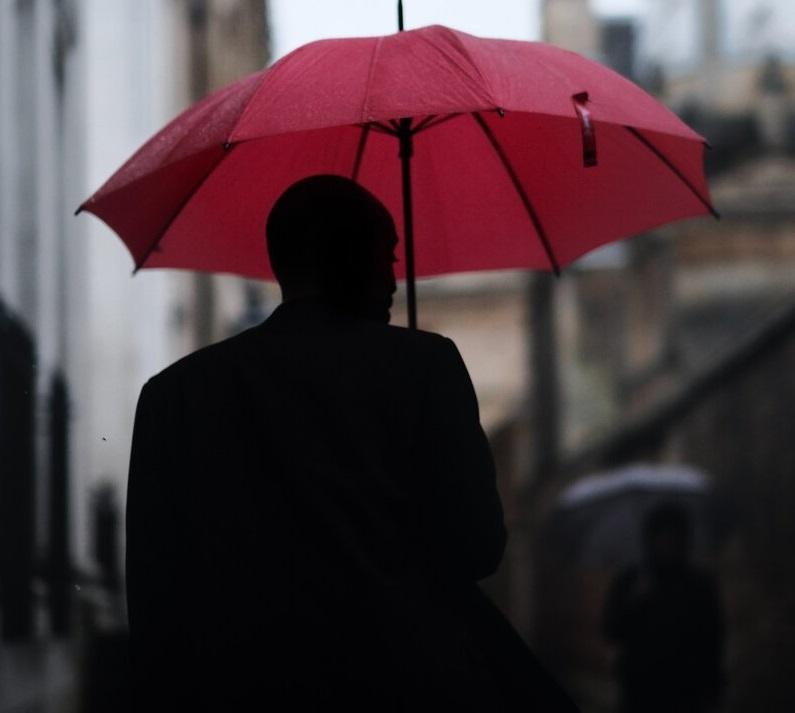 Protect you on a rainy day umbrella