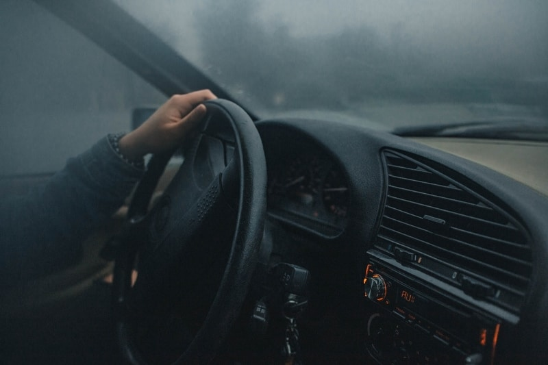 dark driving at night